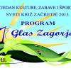 Program Tjedna kulture, zabave i športa 2014.