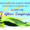 """Počinju audicije za festival """"Prvi glas Zagorja 2013."""""""