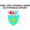 Utvrđena je Bodovna lista za dodjelu učeničkih i studentskih stipendija
