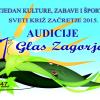 Audicije za Prvi glas Zagorja 2015.