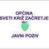 Javni poziv Ministarstva graditeljstva i prostornog uređenja