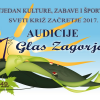 Audicije za Prvi glas Zagorja 2017.