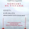 """Koncert na Štefanje Puhačkog orkestra """"I.Tijardović"""""""