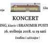 Koncert u Dvorcu Sveti Križ Začretje 16.05.2018.