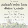 Koncert Pačetanci i prijatelji 11.05. u dvorcu