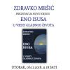 Zdravko Mršić u utorak, 06.11.2018. predstavlja novu knjigu